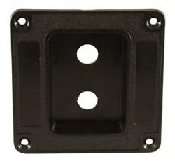 recessed speaker cabinet jack plate amp case hardware hardware parts. Black Bedroom Furniture Sets. Home Design Ideas