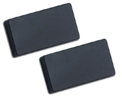 humbucker cover set no holes black humbucker pickup covers. Black Bedroom Furniture Sets. Home Design Ideas