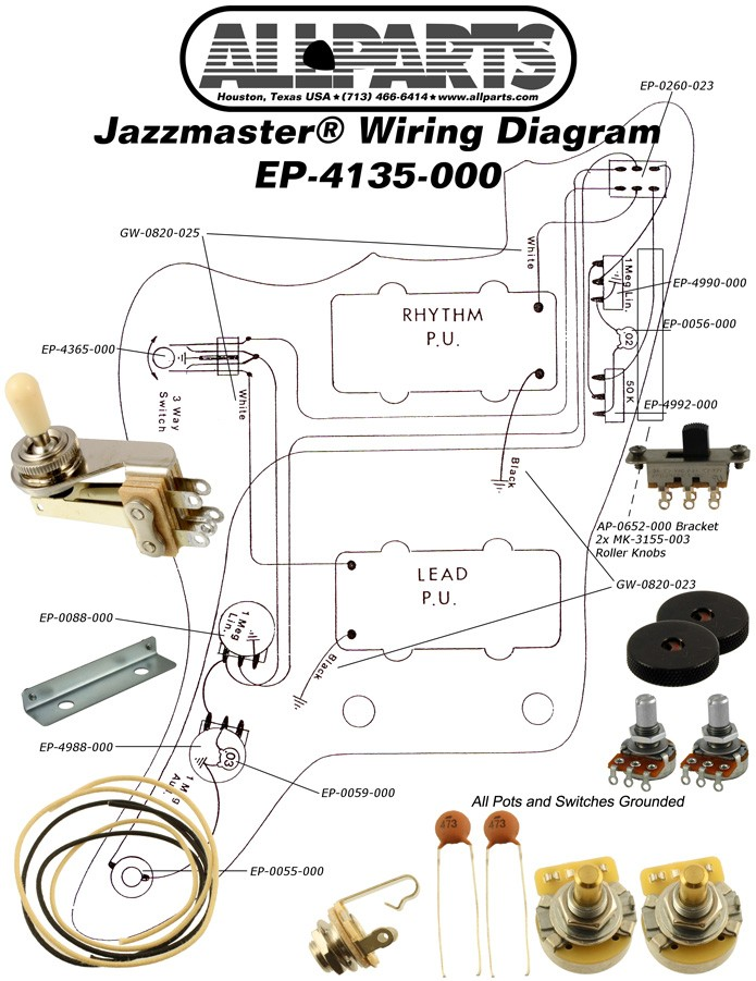 More Views: Jazzmaster Wiring Diagram Guitar At Aslink.org