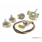 Premium Wiring Upgrade Kit for SSS (3 single coil) Guitars