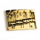 Gotoh 404SJ-4 String Bass Bridge - Gold