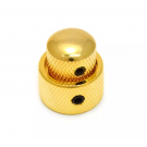 Stacked Concentric Mini Knob - Gold