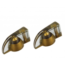 Pointer Knob Set - Gold