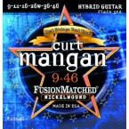 Curt Mangan 9-46 Fusion Matched Nickelwound