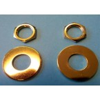 Schaller Straplocks Nut and Washer Set – Gold